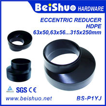 PE Drainage System Fitting Eccentric Reducers for Pipe Fitting