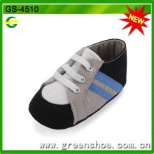 China Bequeme weiche Baby Krippe Schuhe (GS-4510)