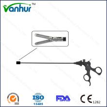5mm Laparoskopische Instrumente Greifzange / Platinförmig / Autraumatisch