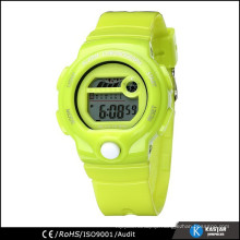 colorful candy digital watch for kids, 3atm water resistant watch