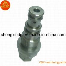 Peças de alumínio torno CNC (SX231)