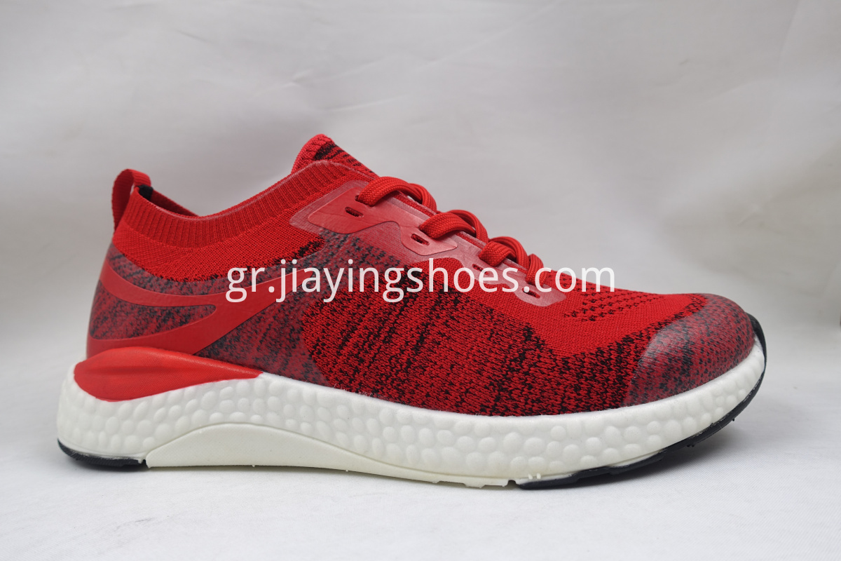 Red Flyknit Shoes