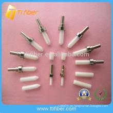 Fabrik Standard SC LC MU ST SMA Keramik Ferrule Machen Sie in China