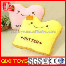 Novelty design high quality plush sandwich pillow