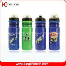 Garrafa de água de plástico, garrafa de esportes plástica, garrafa esportiva de 750 ml (KL-6715)