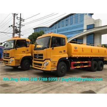 Venda quente Euro IV caminhão tanque de água 18000 litros / dongfeng 6x4 venda de caminhão tanque de água potável no Brasil