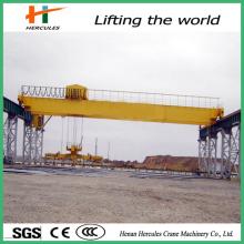 Low Price Double Girders Bridge Crane with Grab or Hook