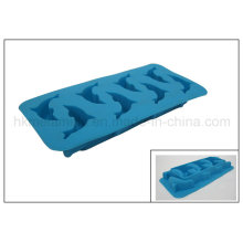 Dolphin Shaped Silicone Ice Cube Tray (RS18)