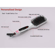 New Hot Tools Electronic Straightening Brush Hair Comb