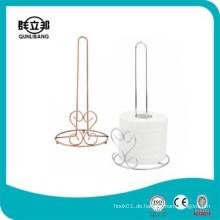 Metall billig Papier Handtuchhalter, Küche Papier Handtuchhalter, Toilettenpapierhalter