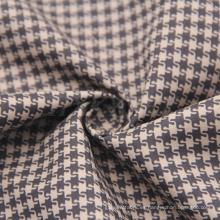 Forme la tela impresa poliéster de la piel del melocotón con la tela cruzada para las chaquetas