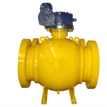Big Size Side Entry Worm Gear Ball Valve