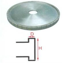 Personalizado recém metal borda de moagem de diamante rodas de mão de vidro edger para lápis