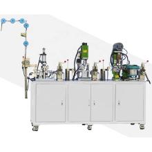 Sellado automático de película de cremallera para cremallera de extremo abierto