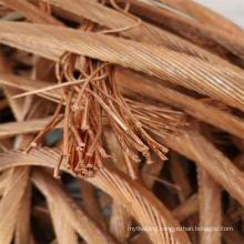 High Purity Copper Wire Scraps 99.99% Copper Scraps 99.95%