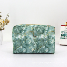 High Quality Pu  Leather Makeup Bag Custom Cosmetic Bag Travel Kit