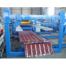 Máquina para fabricar tejas de acero esmaltado para techos