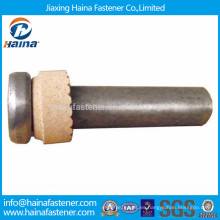 Pernos de soldadura de cabeza de queso ISO 13918 para cubiertas de acero