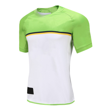 T-shirt Dry Fit Rugby Wear Homme Blanc