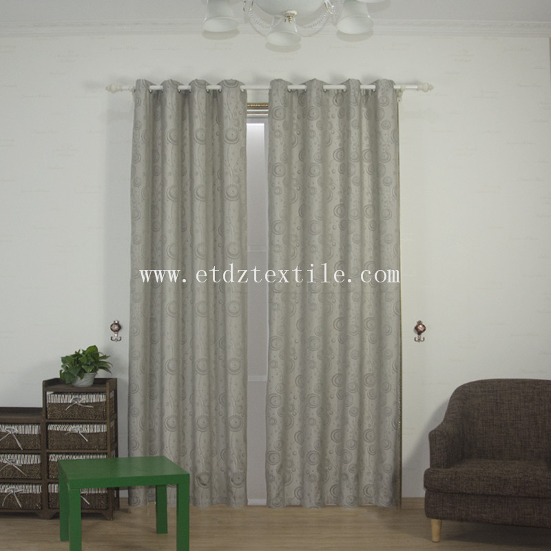 Popular Dandelion Love Jacquard Curtain