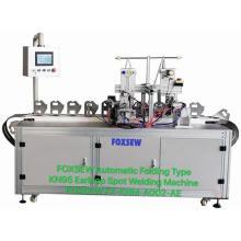 Automatic KN95 Mask Earloop Welding Machine