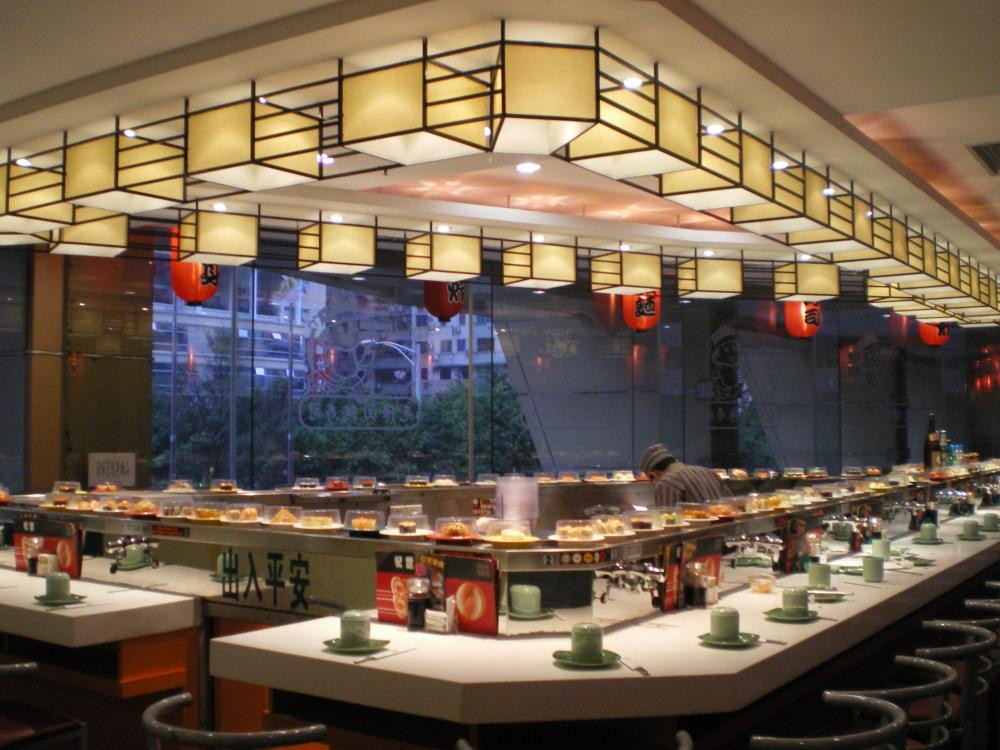 Singe Deck Sushi Conveyor Belt