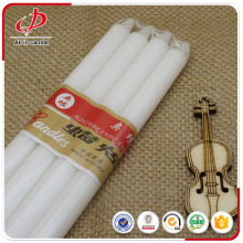 White Straight Taper Candles Household Candles