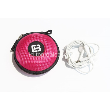 Pelindung EVA ritsleting earphone case