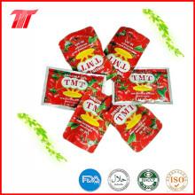 Venta al por mayor Pasta de tomate orgánica de la bolsita con precio bajo
