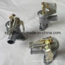 Peças fazendo à máquina de aço inoxidável da válvula da superfície de Chromeplate