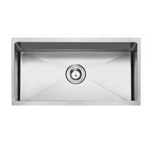 American Standard Hm-3018 Undermount Hecho a mano Single Bowl Stainless Steel Sink