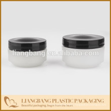 Black cap with containers,30g,50g jar