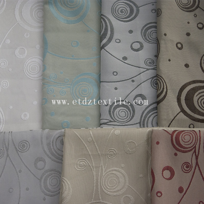 European Popular Yarn Dyed Curtain Fabric WZQ203 Grey