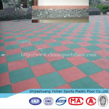outdoor warehouse rubber flooring tiles