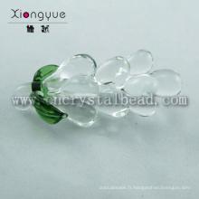 Clair cristal raisin composants pour lustres