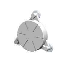 Custom CNC Lathe Turning Drilling Aluminum Sensor Parts