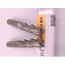 Roughing end mill
