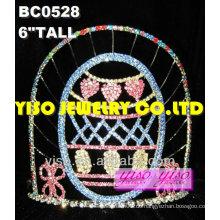 Mode Kristall Tiaras