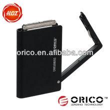 ORICO 2598US USB2.0 Gabinete de disco rígido externo de 2.5 '' com material de alumínio