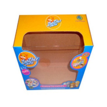 Printing Color Corrugated Paper Box with Window Box