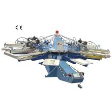 Automática carrusel pantalla impresión máquina (serigrafía) (serie de SPA)