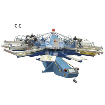 Automático carrossel tela impressão máquina (serigrafia) (série SPA)