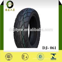 Китай натурального каучука бескамерные мотоцикл шин DJ-061B