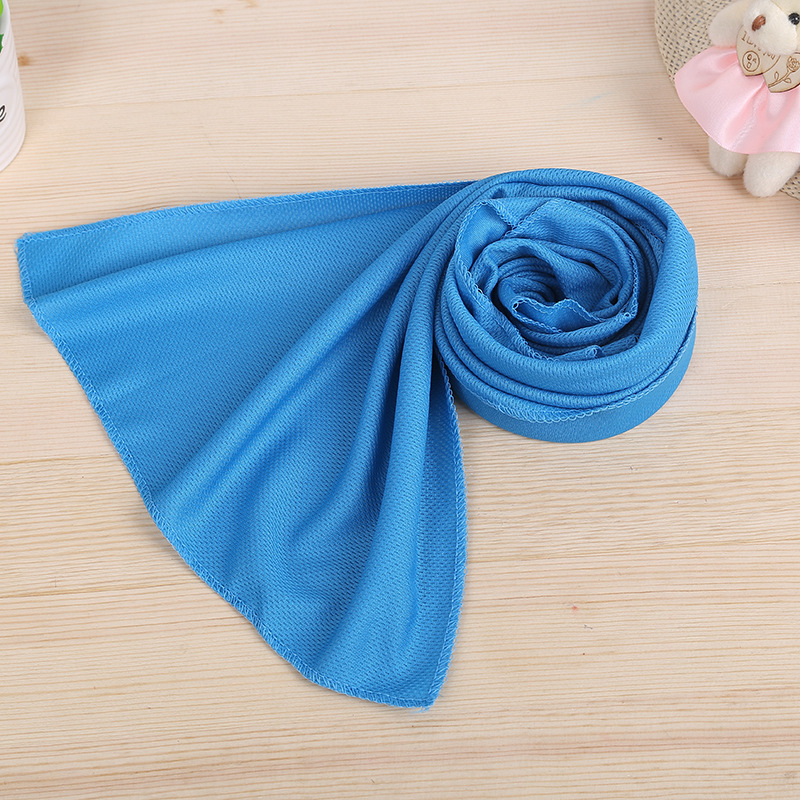 Cooling Towels in Blue Color
