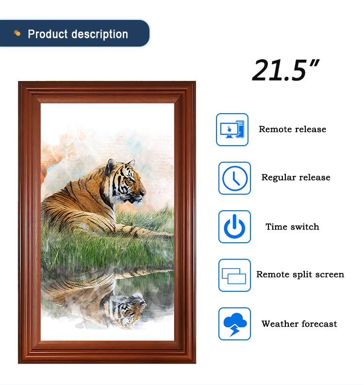large screen digital photo frame