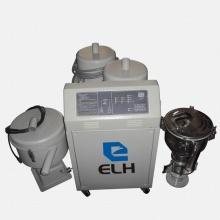 1-zu-2 Dreiphasen-Vakuum-Trichter-Lader für Kunststoff-Granulat-Materialien