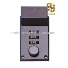 case lock, code lock, combination lock