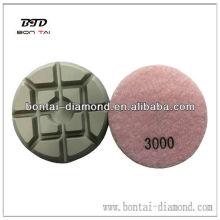 Diamant-Pads für Steinpolieren
