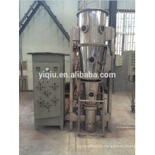 Material químico Granulador de lecho fluido / pelletor / recubrimiento