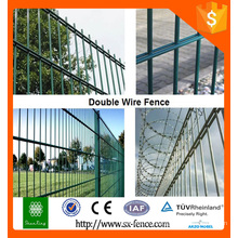 Welded sheep wire mesh fencing, double fence